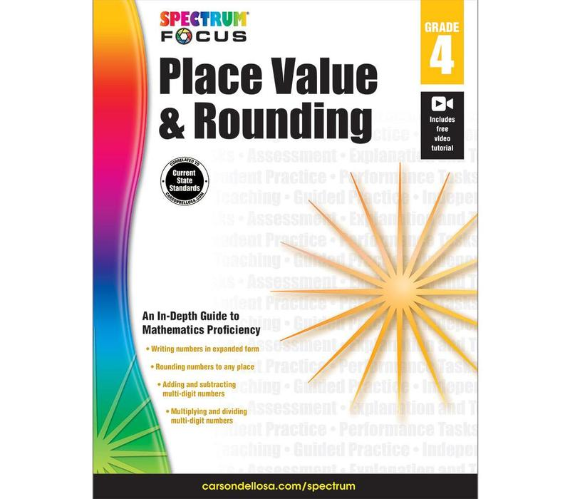Place Value & Rounding, Grade 4 Spectrum