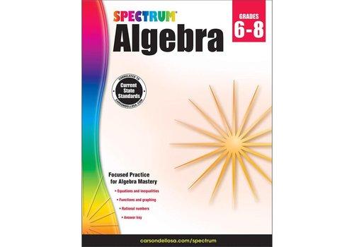 Carson Dellosa Algebra,  Grade 6-8 Spectrum