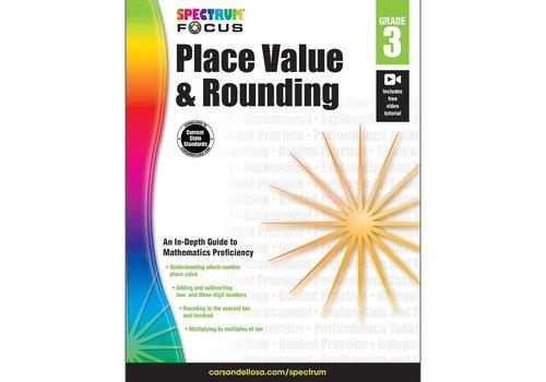 Carson Dellosa Spectrum Place Value & Rounding, Grade  3