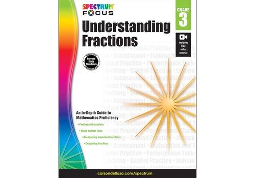 Carson Dellosa Understanding Fractions, Grade 3 Spectrum