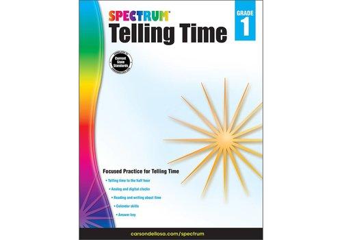 Carson Dellosa Spectrum Telling Time, Grade 1