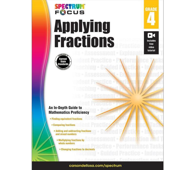 Applying Fractions, Grade 4 Spectrum