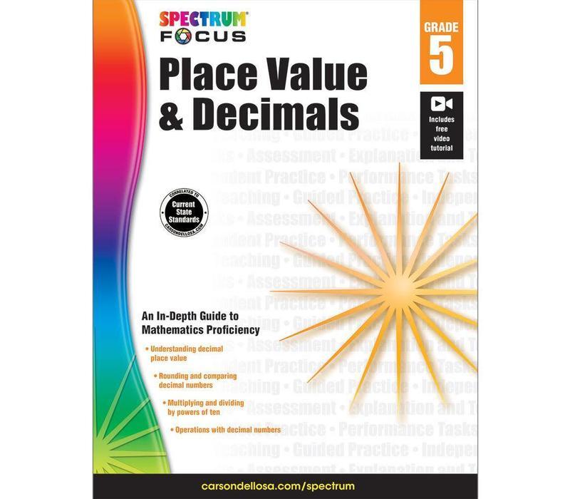 Place Value & Decimals, Grade 5 Spectrum