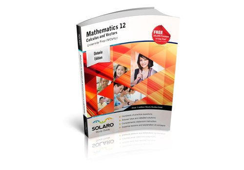 Solaro Mathematics 12 Calculus and Vectors