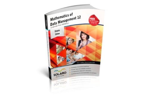 Solaro Mathematics of Data Management University Prep 12