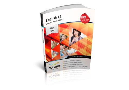 Solaro English, University Prep, Grade 12