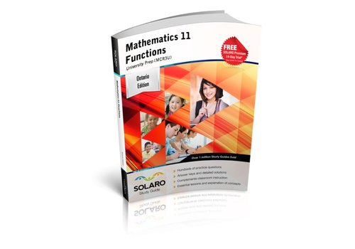Solaro Mathematics 11 Functions - University Prep *