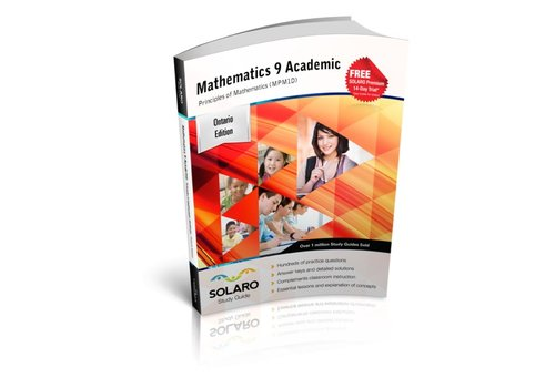 Solaro Mathematics 9 Academic- Principles of Mathematics