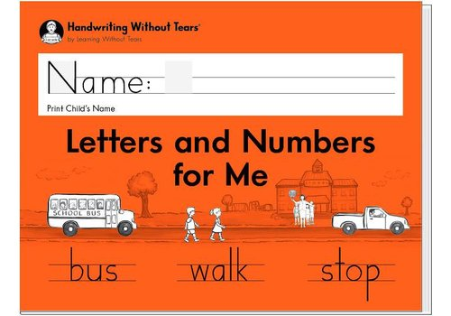 Handwriting Without Tears Handwriting Without Tears -Letters and Numbers for Me