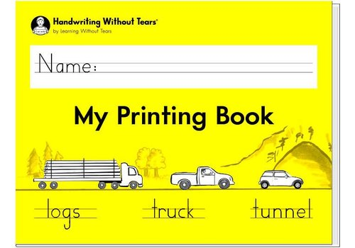 Handwriting Without Tears Handwriting Without Tears - My Printing Book