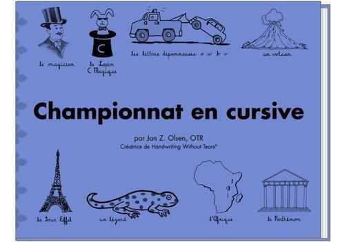 Handwriting Without Tears Handwriting Without Tears- Championnat en Cursive