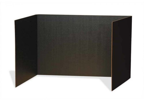 PACON Privacy Boards, Set of 4 BLACK