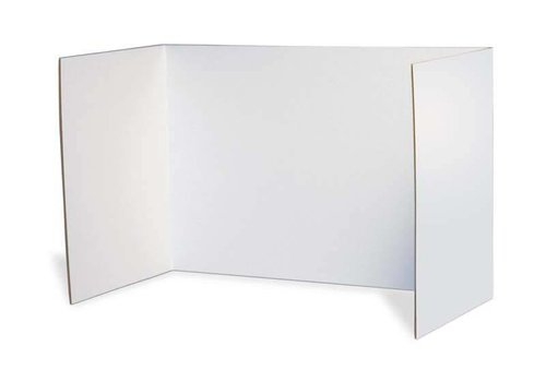 PACON Privacy Boards, Set of 4 WHITE