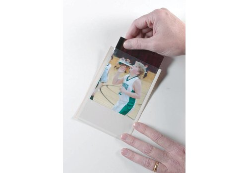 ASHLEY PRODUCTIONS Clear View Self-Adhesive Photo/Index Card Pockets 25/PK *