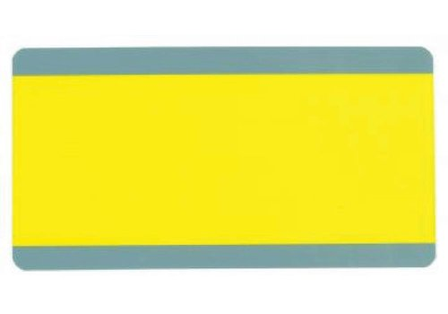 ASHLEY PRODUCTIONS BIG READING GUIDE STRIPS YELLOW