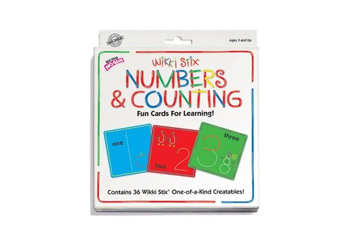 Wikki Stix Wikki Stix - Numbers and Counting Cards