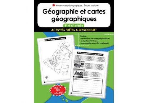 NELSON Geographie et cartes geographiques 3-5