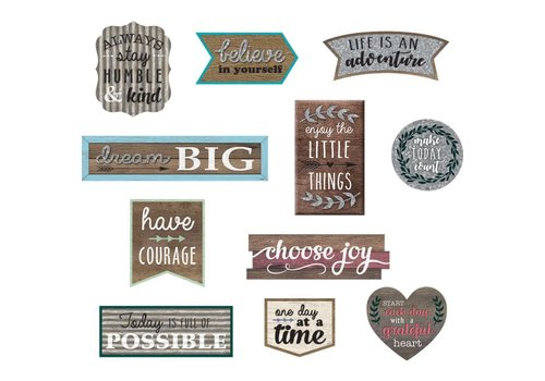 Teacher Created Resources Home Sweet Classroom - Clingy Thingy Positive Sayings