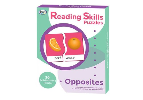Didax Reading Skills Puzzles - Opposites