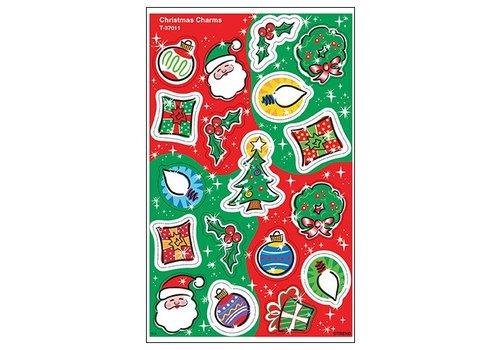 Trend Enterprises Christmas Charms Foil Stickers *