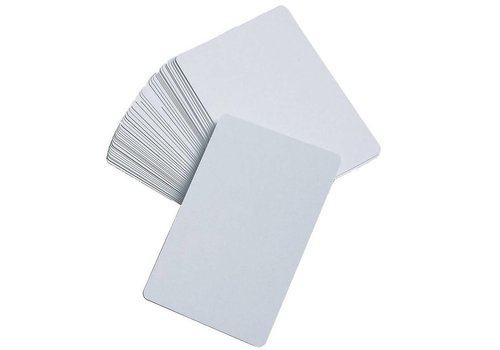 Learning Advantage Blank Playing Cards - White, Set of 50