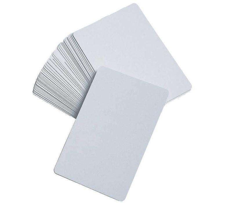 Blank Playing Cards - White, Set of 50