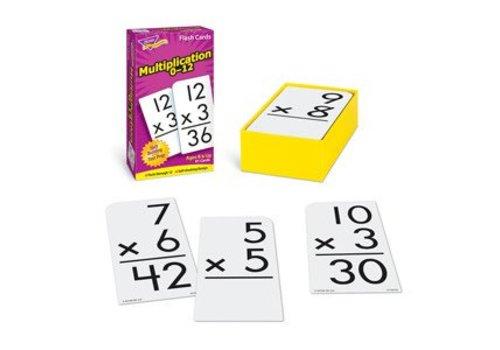 Trend Enterprises Multiplication 0-12 Flashcards