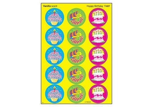 Trend Enterprises Happy Birthday/Vanilla Stinky Stickers