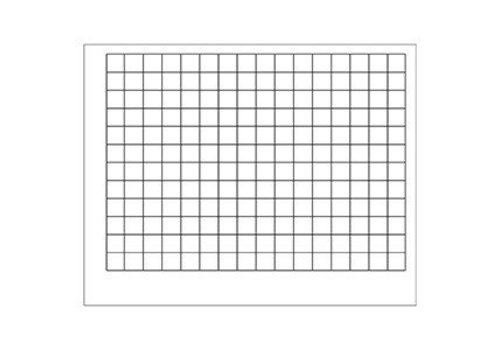 "Trend Enterprises Graphing Grid (1 1/2"" Squares), Wipe-Off Chart"
