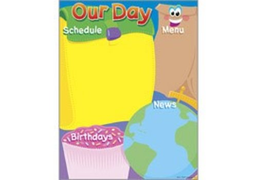 Trend Enterprises Our Day Poster