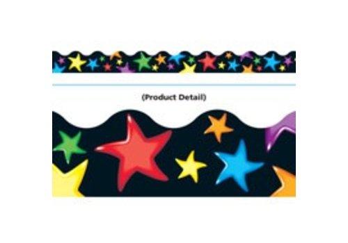 Trend Enterprises Gel Stars Scalloped Border
