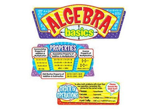 Trend Enterprises Algebra Basics