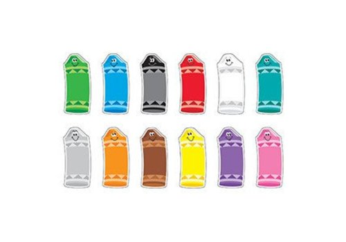Trend Enterprises Crayon Colors