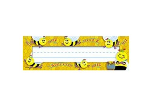 Trend Enterprises Busy Bees Nameplates