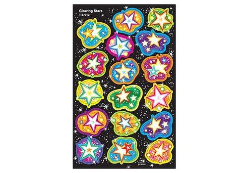 Trend Enterprises Glowing Stars Stickers