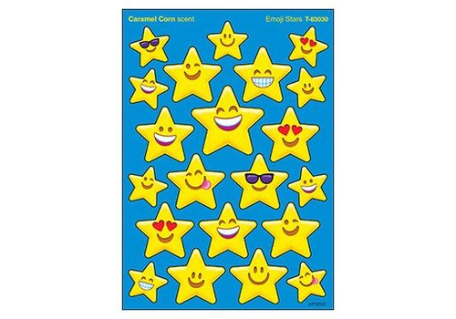 Trend Enterprises Emoji Stars Stinky Stickers