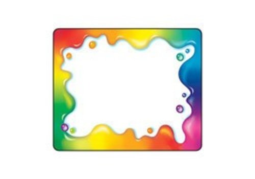 Trend Enterprises Rainbow Gel Labels
