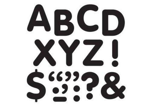 Trend Enterprises Stick-eze Stick on Letters Black 2 inch