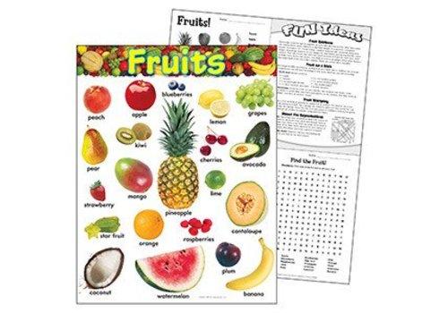 Trend Enterprises Fruits Learning Chart *
