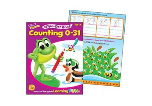 Trend Enterprises Counting 0-31 Wipe-Off Book