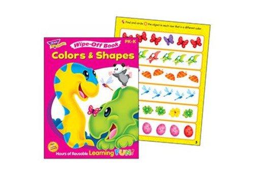 Trend Enterprises Colors & Shapes Wipe-Off Book *