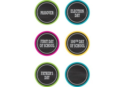 Teacher Created Resources Chalkboard Brights Holidays and Special Events