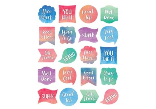 Teacher Created Resources Watercolour Stickers