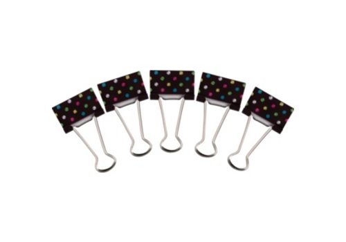 Teacher Created Resources Chalkboard Brights Medium Binder Clips