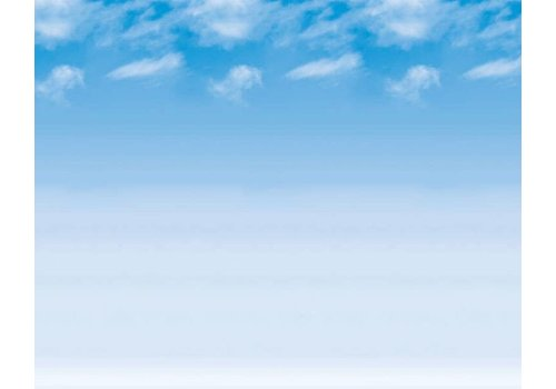 PACON Fadeless Paper 4ft x 50 ft - Wispy Clouds
