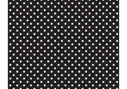 PACON Fadeless Paper 4ft x 12 ft - Classic Dots Black