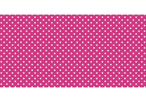 PACON Fadeless Paper 4ft x 12 ft - Classic Dots Pink