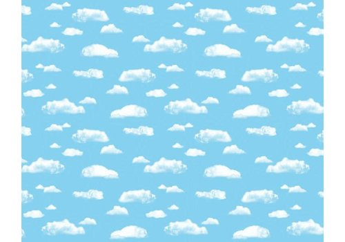 PACON Fadeless Paper 4ft x 12 ft - Clouds