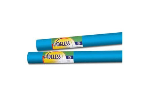 PACON Fadeless Paper 4ft x 12 ft - Brite Blue