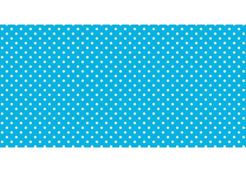 PACON Fadeless Paper 4ft x 12 ft - Classic Dots Aqua